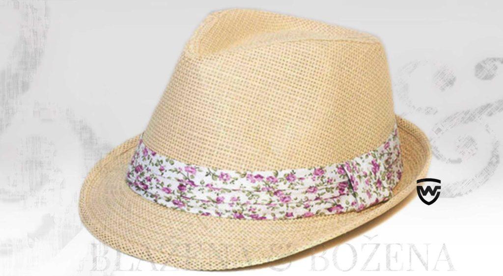Laredo - slamák Wayfarer s kvítky růže