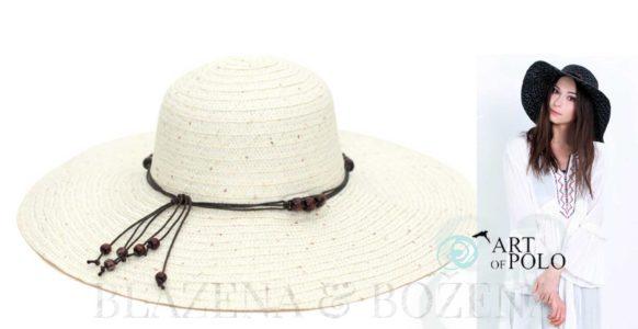 Umění originality: klobouk s korálky