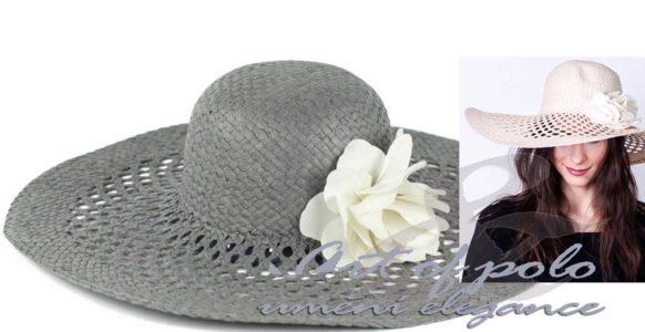 Umění elegance: klobouk s květinou