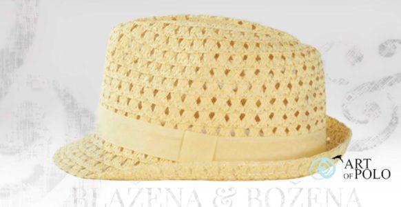 Valencia – světlý slaměný klobouk