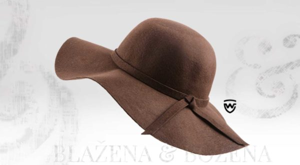 Wayfarer West - hnědý dámský klobouk