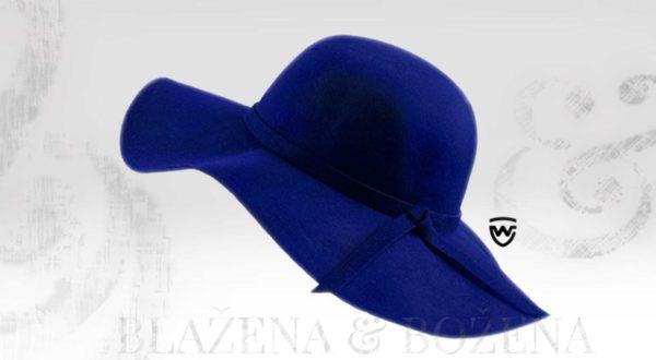 Wayfarer West - modrý dámský klobouk