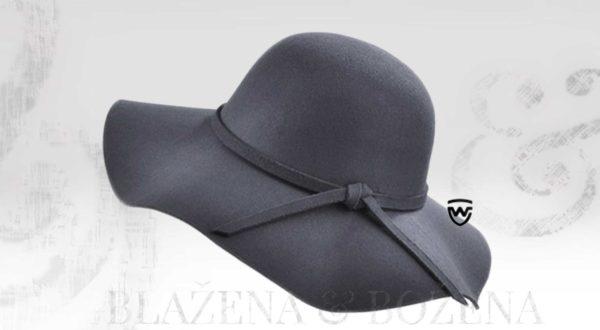 Wayfarer West - šedý dámský klobouk