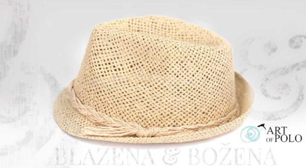 Přírodní klobouk Easy