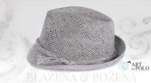 Šedý klobouk Easy