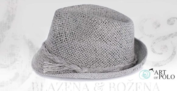 Letní šedý klobouk Easy