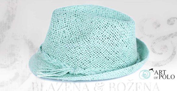 Letní tyrkysový klobouk Easy