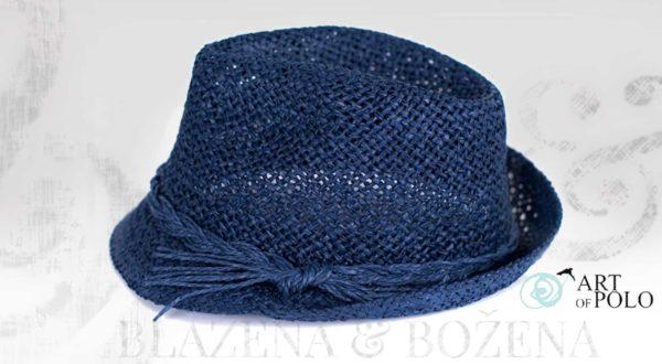 Letní modrý klobouk Easy