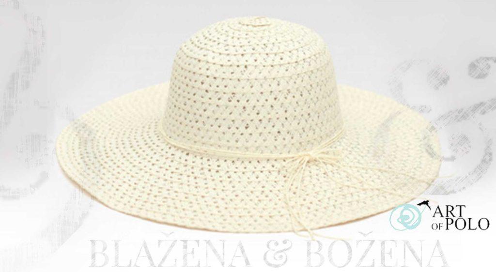 Dámský klobouk Almeria, bílý