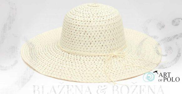 Dámský letní klobouk Almeria v bílé