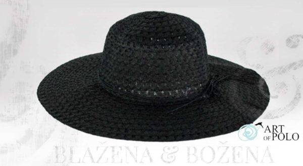 Dámský klobouk Almeria, černý