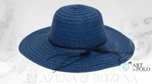 Dámský klobouk Almeria, modrý