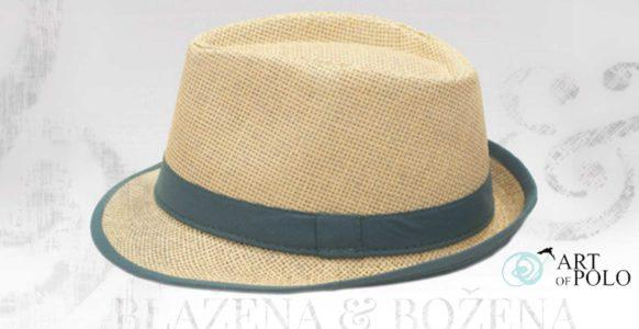 Beam – šedý slaměný klobouk