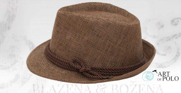 Getafe – hnědý plážový klobouk