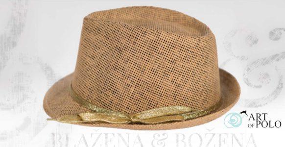 Salamanca – letní klobouk zdobený zlatem