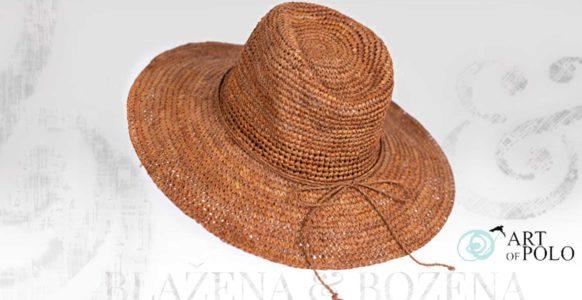 Přírodní letní klobouk