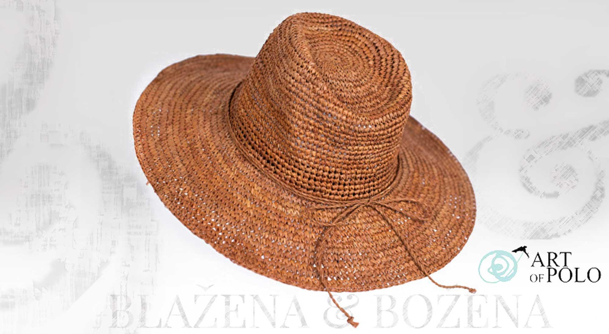 Blažena Božena. královny klobouků. Přírodní letní klobouk d56c2950b0