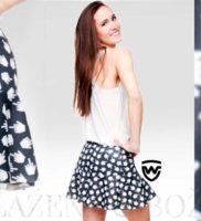 Wayfarer Kurzor mini sukně