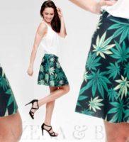 Wayfarer Canabis Jamal mini sukně