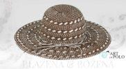 Hnědý letní klobouk Fabulous VÝPRODEJ