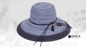 Modrý dámský klobouk Doca Extra