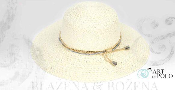 Letní klobouk Else Ivory
