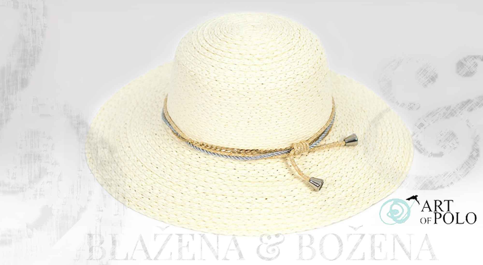 730d44e0629 Blažena Božena. královny klobouků. Dámský letní klobouk Else Ivory