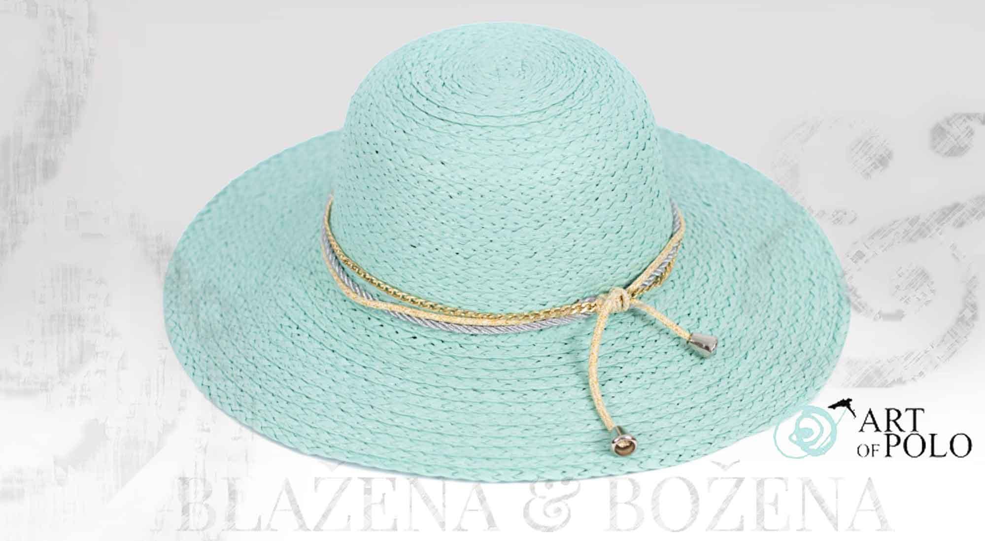 Letní klobouk Else Mint – Blažena Božena f1654fc3e5