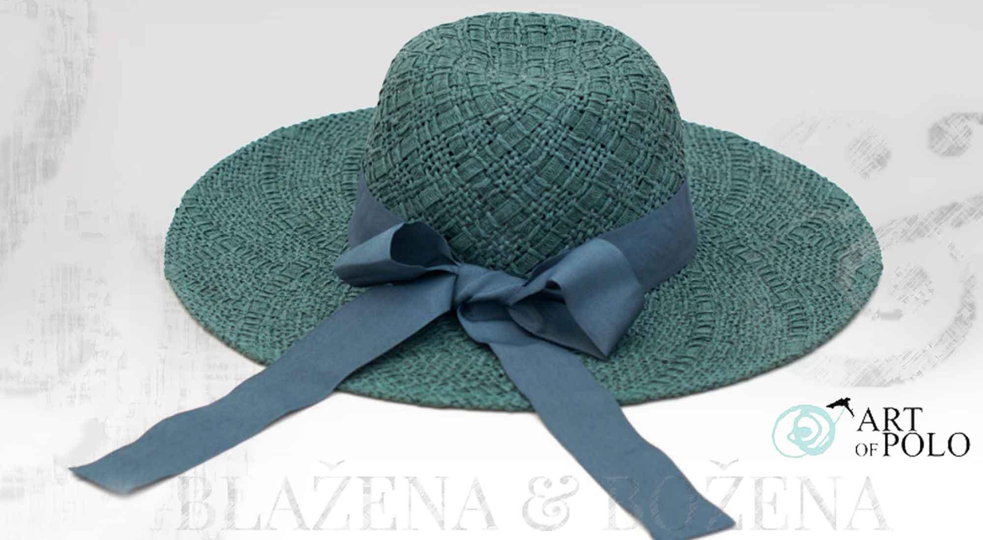 Blažena Božena. královny klobouků. Paví klobouk s mašlí Dame 630e3858eb